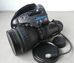 Canon HJ22ex7.6B IRSE 2/3inch B4 Mount HD TV Broadcast Zoom Lens Service Needed