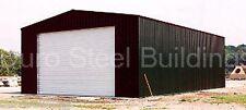 DuroBEAM Steel 24x24x11 Metal Prefab Garage Workshop Building Kit Factory DiRECT