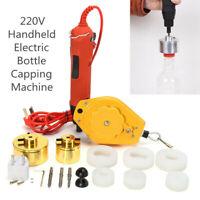 220V 10-50mm Electric Bottle Capping Caps Sealer Sealing Capper Handheld  Y UK