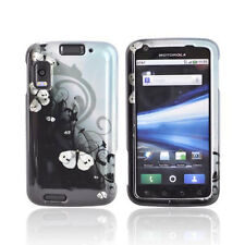 For AT&T Motorola Atrix 4G MB860 Hard Case Snap on Phone Cover Geisha Butterfly
