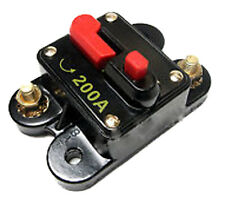 200 AMP 12V DC CIRCUIT BREAKER REPLACE FUSE 200A 12VDC FAST FREE USA SHIPPING
