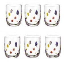Leonardo Whiskeybecher Millefiori 6er Set WH Becher Trinkbecher Trinkglas Glas