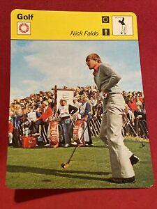 NICK FALDO 1978 Sportscaster GOLF card #49-22