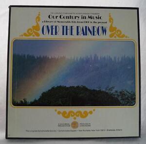 Vintage Longines Symphonette Over The Rainbow Box Set Album Vinyl LP tthc