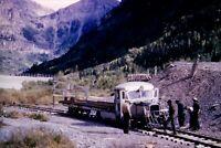 Duplicate Slide Rio Grande Southern Railroad RGS Galloping Goose