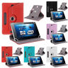 "360° Rotate Leather Case Cover For Apple iPad iPod Tablet PC 7"" 8"" 9"" 10"" 10.1"""