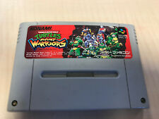 Turtles Mutant Warriors Super Nintendo SNES SFC Super Famicom jap