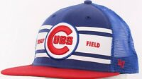 Chicago Cubs Wrigley Field MLB '47 Forty Seven Blue Snapback Baseball Cap Hat OS