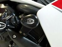 R&G White Crash Protectors - Aero Style for Yamaha YZF-R1 2007