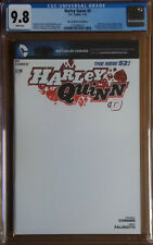 HARLEY QUINN #0 Cover C (2014 series) - Blank Variant Cover - CGC 9.8