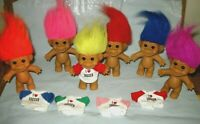 "RUSS VINTAGE Troll Doll  5"" Tall (I LOVE SOCCER) MIX or MATCH NEW n ORIGINAL BAG"