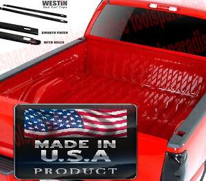 SIDE TOP COVER 2006 - 1999 Chevrolet Silverado 1500 Holes Bed Rail Caps Trim