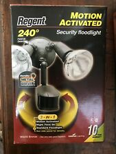 REGENT MS248W 3-in-1 240° Motion Activated Twin Halogen Security Light White