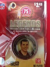2007 Activa Wash. Redskins 75th Anniversary Legends Medallion Mark Rypien