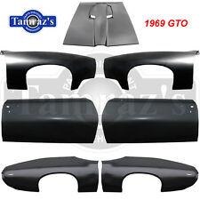 69 GTO Fender Hood Quarter & Door Skin Panel ComboKit