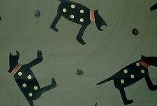 PETER FASANO Bow Wow Wow Dog Animal Stone Cotton Remnant New