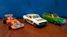 No. 7 VW Golf No. 9 Ford Escort RS2000 No 36 Formula 5000 Matchbox England 70's