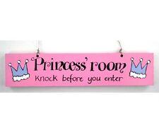 """Door Hanging Decoration """"Princess Room"""""""