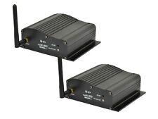 2 x QTX Wireless DMX RICETRASMITTENTE TRASMETTITORE RICEVITORE controllo illuminazione 2.4GHz