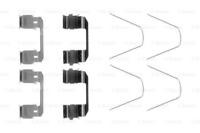 P78004 vorne Satz BREMBO Bremsbeläge 4 Stück