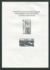 BELGIEN SD SCHWARZDRUCK EUROPA CEPT 1983 BELGIUM BLACK PRINT RARE !! z1811