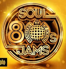 Ministry Of Sound - 80s Soul Jams NEW 3CD
