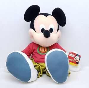"2000 Toys R Us Fisher Price 24"" Jumbo Plush Disney Mickey Mouse with Tags New"