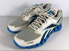 Reebok ZigTech Mens Size 11 Blue Black White