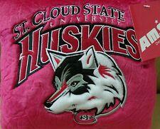 St. Cloud State Huskies Pillow 10 Inch Square Plush Pillow Free Ship Set Of 6