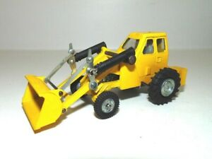 Vintage Dinky Toys Muir Hill loader-Taylor Woodrow-Yellow-good shape
