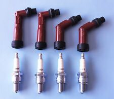 SUZUKI GS550/850/1100//SPARK PLUG CAPS/PLUGS NGK  B8ES SPECIAL OFFER -  GENUINE
