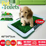 Large Pee Pads Dog Toilet Potty For Puppy Pet Training Synthetic Grass Mat Tray