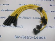 Rendimiento 8MM Amarillo Encendido Contactos Para Opel Manta Calidad mano construida conduce HT