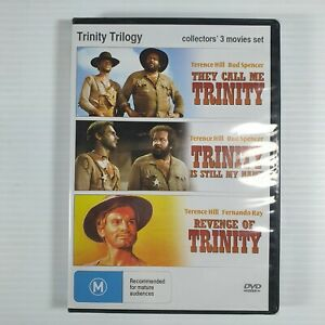 Trinity Trilogy 3 Movie Set Terence Hill Bud Spencer Brand New and Sealed AUS