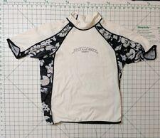 New listing Xcel Hawaii Rash Guard women's Xxl Surf Shirt Uv Shield Protection floral white