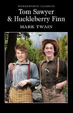 Tom Sawyer and Huckleberry Finn by Mark Twain (Paperback, 1992) Free UK Delivery