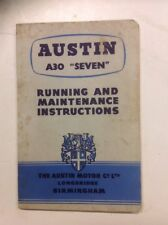 """ORIGINALES Austin A30 """"Seven """" DEL PROPIETARIO"""