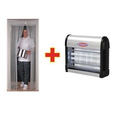 Chain Door Fly Screen And Fly Killer Combo