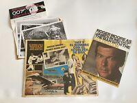 007 The Man With The Golden Gun Christopher Lee Autograph Bundle