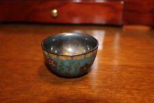 Antique 1800'S Cloisonne Enamel Bowl