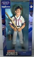 "Chipper Jones Kenner Starting Lineup SLU 1998 Atlanta Braves 12"" Action Figure"