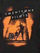 Twenty One Pilots 2017 Concert Tour Shirt used women's S