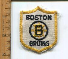 NHL  BOSTON BRUINS  HOCKEY  HAT/JACKET PATCH VINTAGE