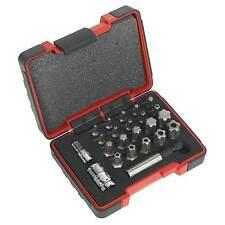 """Sealey Trx-p y de seguridad trx-ts Bit Set 23pc 1/4 de pulgadas y 3/8 """"Cuadrados-ak6226"""