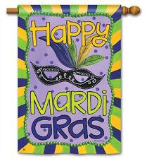 "Mardi Gras Full-Size Flag - 28"" x 40"""
