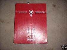 1990 CADILLAC BROUGHAM Service Workshop Repair Shop Manual OEM Factory