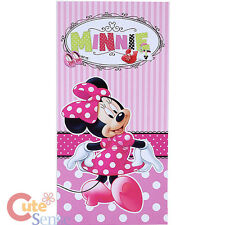 Disney Minnie Mouse Pink Beach Towel  Bath Towel  Bow-tique Shop Cotton 30x60