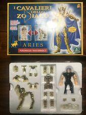 Cavalieri dello Zodiaco ARIETE-Saint Seiya-Vintage Giochi preziosi edizione 2000