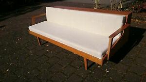 60er Jahre DAYBED Sofa Couch Klappsofa Klappbett Canapee Vintage String Danish.