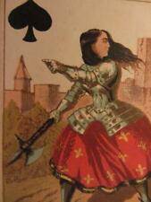 Genuine1870 Transformation Playing Card Fromann & Bunte Queen of Spades Single